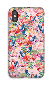 Tropical Flamingo Vibes case IPhone X