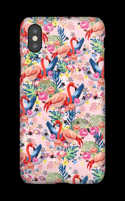 Tropical Flamingo Vibes case IPhone X