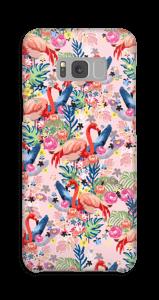 Tropical Flamingo Vibes case Galaxy S8 Plus