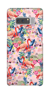 Tropical Flamingo Vibes case Galaxy Note8