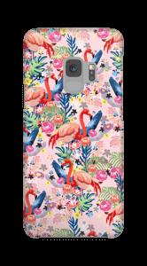Flamingot & Tropiikki kuoret Galaxy S9