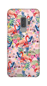 Tropical Flamingo Vibes case Galaxy S9 Plus
