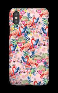 Flamingot & Tropiikki kuoret IPhone XS