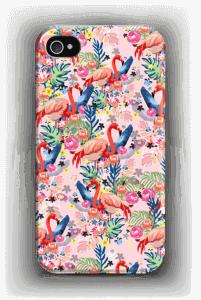 Tropical Flamingo Vibes case IPhone 4/4s