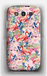 Flamingot & Tropiikki kuoret Galaxy S3