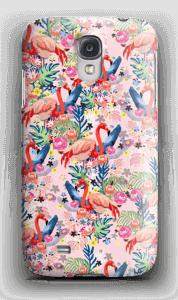 Tropical Flamingo Vibes case Galaxy S4