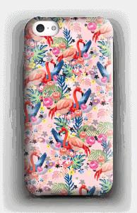 Tropical Flamingo Vibes case IPhone 5c