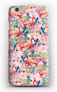 Tropical Flamingo Vibes case IPhone 6