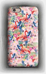 Tropical Flamingo Vibes case IPhone 6 tough
