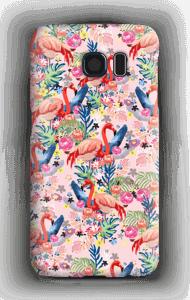 Tropical Flamingo Vibes case Galaxy S6