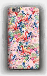 Tropical Flamingo Vibes case IPhone 6s Plus
