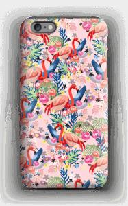Tropical Flamingo Vibes case IPhone 6 Plus tough