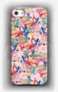 Tropical Flamingo Vibes case IPhone SE