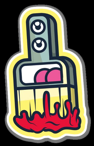 Pinsel sticker