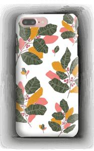 Blad i lyserødt cover IPhone 7 Plus