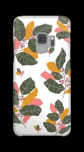 Blad i lyserødt cover Galaxy S9