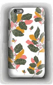 Blad i lyserødt cover IPhone 6 Plus tough