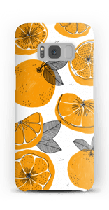 Small Oranges case Galaxy S8