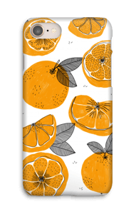 Orange små appelsiner cover IPhone 8