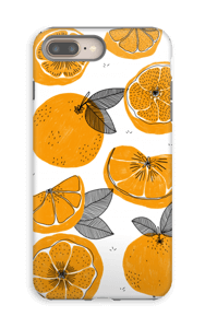 Small Oranges case IPhone 8 Plus tough