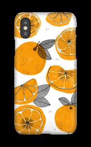 Oranssit appelsiinit kuoret IPhone X