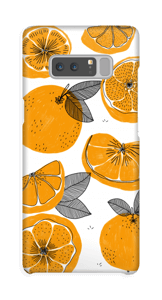 Small Oranges case Galaxy Note8