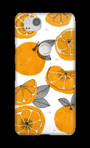 Orangea små apelsiner  skal Pixel 2
