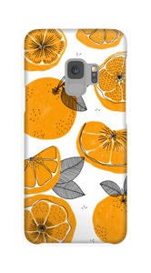 Small Oranges case Galaxy S9
