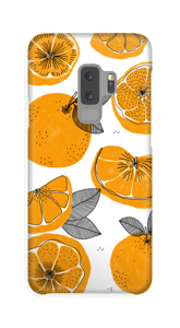 Small Oranges case Galaxy S9 Plus