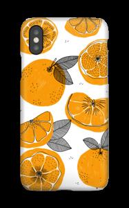 Orange små appelsiner cover IPhone XS