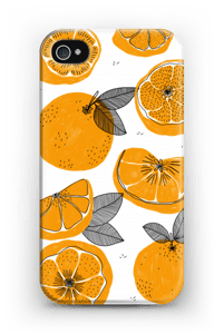 Small Oranges case IPhone 4/4s