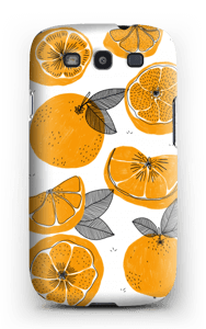 Oranssit appelsiinit kuoret Galaxy S3