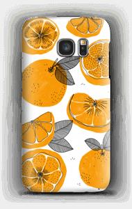 Süße Orangen Handyhülle Galaxy S7