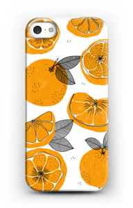 Small Oranges case IPhone SE