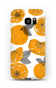 Small Oranges case Galaxy S7 Edge