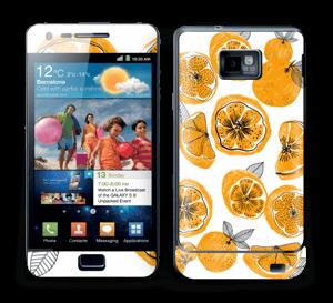 Süße Orangen Skin Galaxy S2