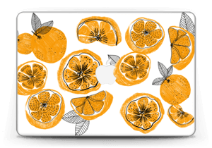 """Oranssit appelsiinit tarrakuori MacBook Pro Retina 13"""" 2015"""
