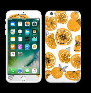 Oranssit appelsiinit tarrakuori IPhone 6 Plus