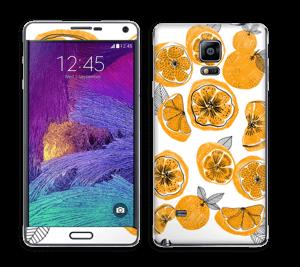 Süße Orangen Skin Galaxy Note 4