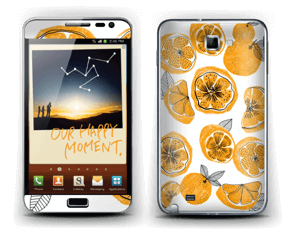 Oranges Skin Galaxy Note
