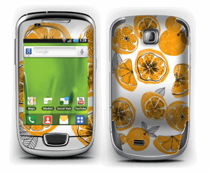 Oranges Skin Galaxy Mini