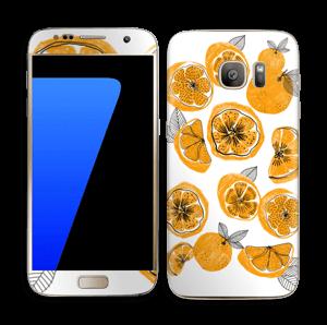 Oranssit appelsiinit tarrakuori Galaxy S7
