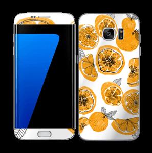 Oranges Skin Galaxy S7 Edge