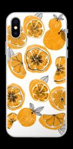 Piece of Orange Skin IPhone X