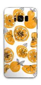 Oranges skin Galaxy S8