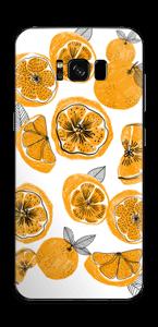 Petites oranges Skin Galaxy S8 Plus