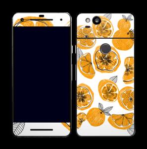 Süße Orangen Skin Pixel 2