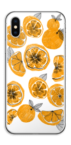 Oranssit appelsiinit tarrakuori IPhone XS