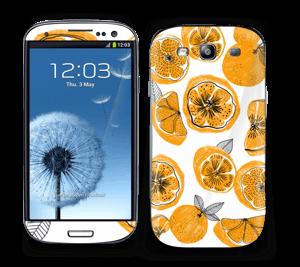 Süße Orangen Skin Galaxy S3