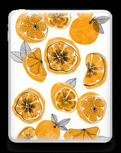 Oranssit appelsiinit tarrakuori IPad 1